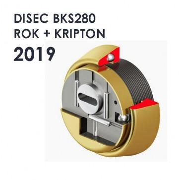 Escudo DISEC BKS280 KRIPTON 2019