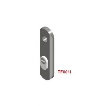 Escudo DISEC TF001I para puertas RF cortafuegos
