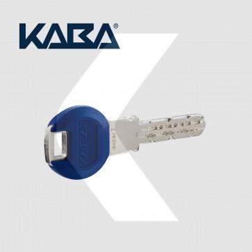Copia de llave de seguridad KABA EXPERT pedida junto a bombín