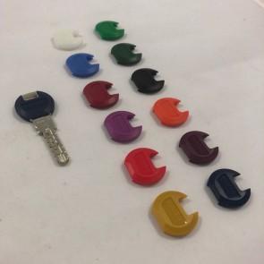 Caperuzas clip color para llave kaba