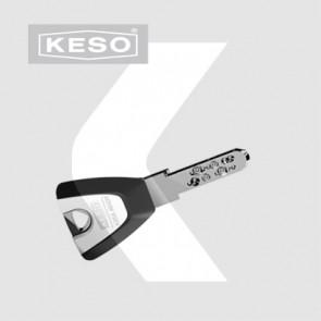 Copia de llave de seguridad KESO 4000 OMEGA pedida junto a bombín