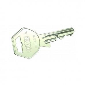Copia de llave de seguridad KABA PEXTRA cabeza METAL