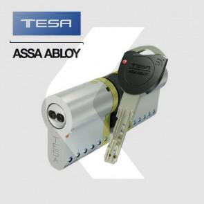 Bombín de alta seguridad Tesa TK100 para cerraduras con protección antibumping y antiganzúas