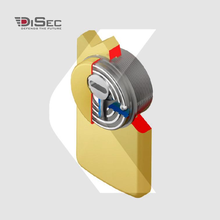 Escudo protector acorazado DISEC LG280EZC