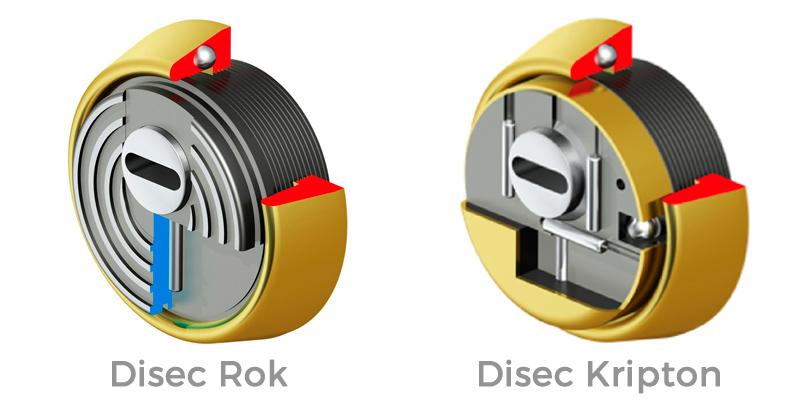 Disec Rok y Disec Kripton