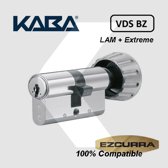 Bombín Kaba Expert Extreme Protection System con pomo compatible Ezcurra DS10-DS15