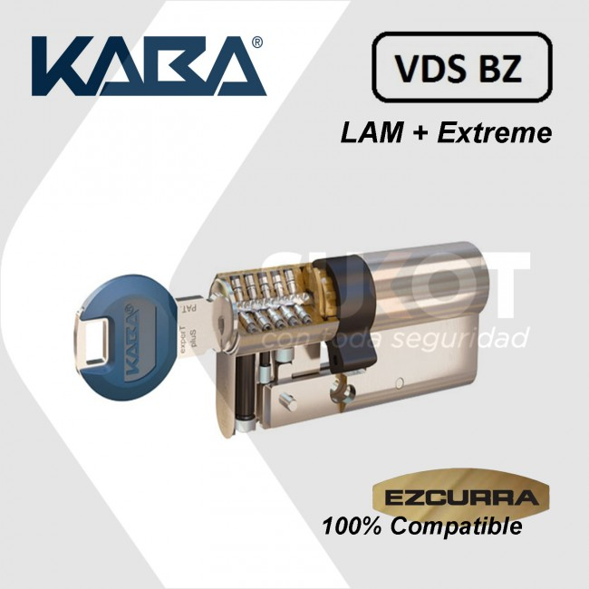 Bombín Kaba Expert Extreme Protection System compatible Ezcurra DS10-DS15