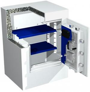Caja fuerte de seguridad INN.SAFE