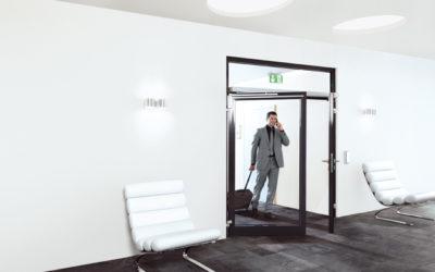 Puertas automáticas para comunidades de vecinos