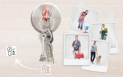 Sistema SAT de KABA: control de acceso en tu hogar