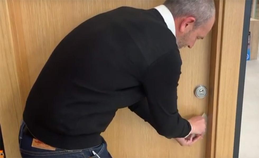 Bluequotient: detección anticipada en el marco de la puerta
